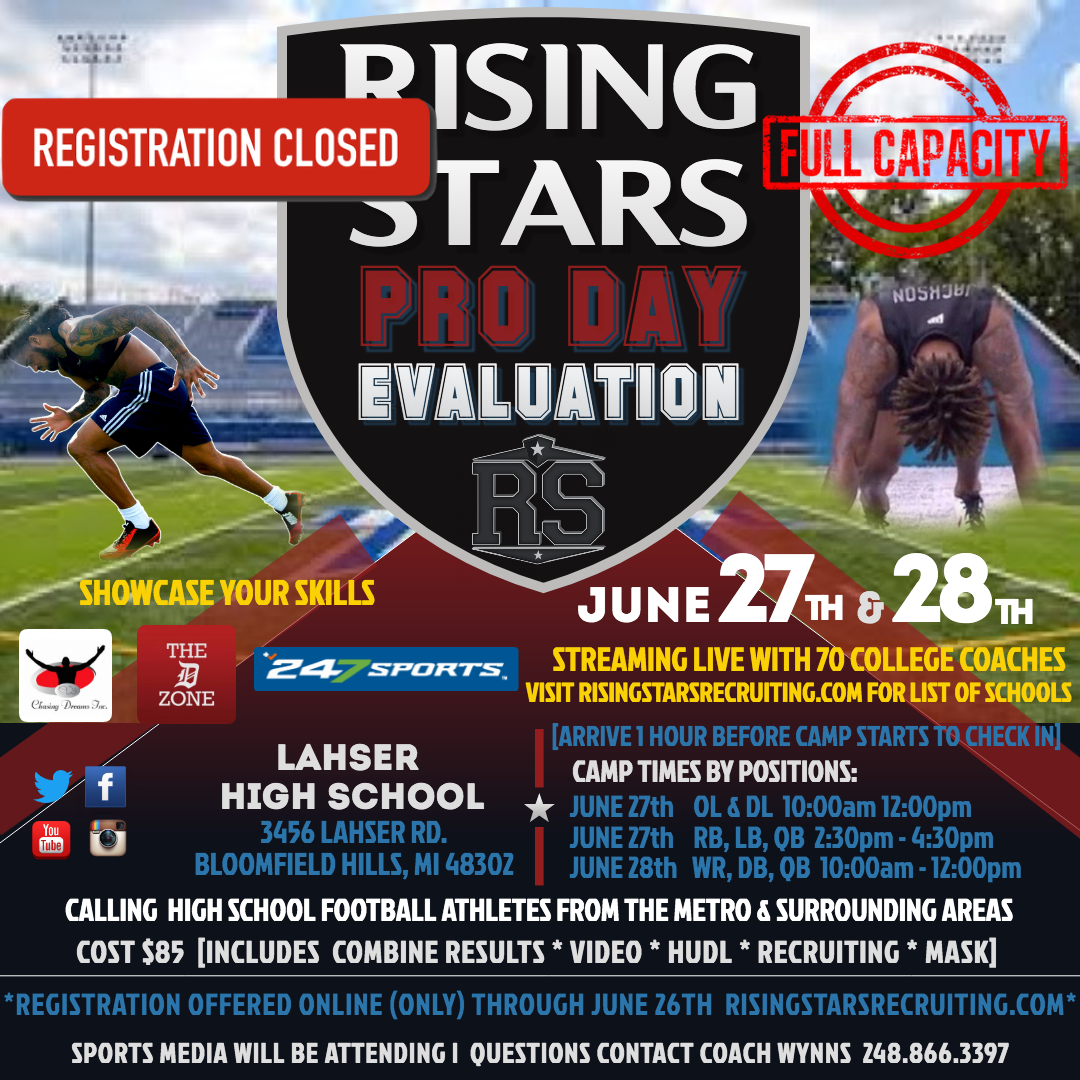 Rising Stars Pro Day Evaluation