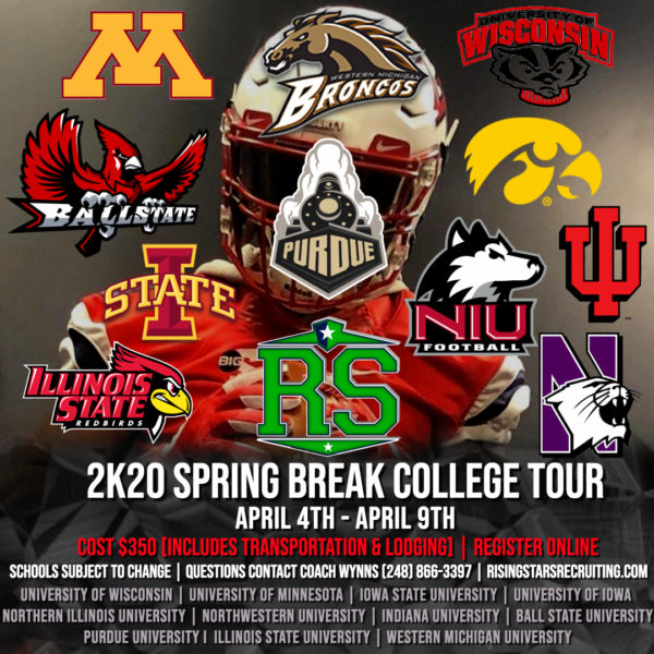 2K20 Spring Break Tour – Made with PosterMyWall