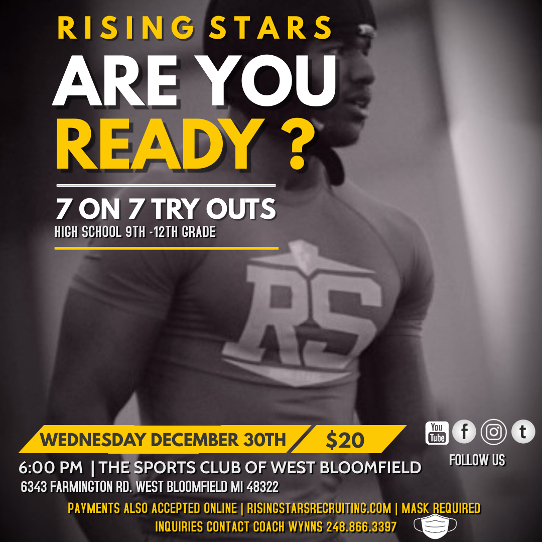 HS 7 ON 7 TRYOUTS - 12/30/20
